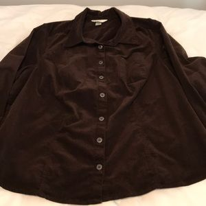 Ck Banks, Brown, Corduroy shirt/jacket